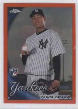 2010 Topps Chrome Orange Refractor #214 - Ivan Nova