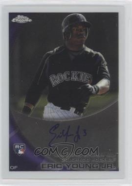 2010 Topps Chrome Rookie Autographs #171 - Eric Young