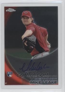 2010 Topps Chrome Rookie Autographs #176 - Mike Leake