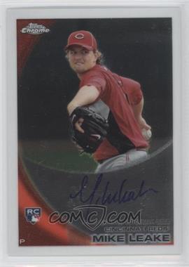 2010 Topps Chrome Rookie Autographs #176 - Mike Leake