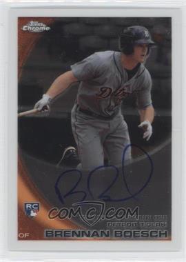 2010 Topps Chrome Rookie Autographs #182 - Brennan Boesch