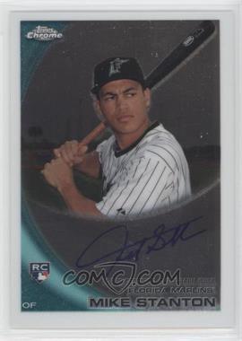 2010 Topps Chrome Rookie Autographs #190 - Giancarlo Stanton
