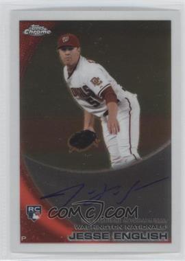 2010 Topps Chrome Rookie Autographs #203 - Jesse English