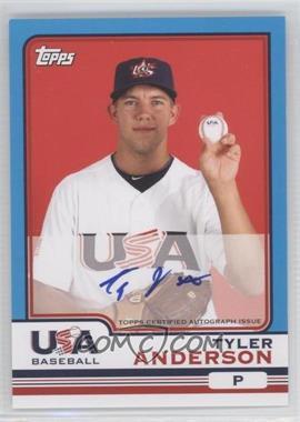 2010 Topps Chrome Team USA Autographs #USA-1 - Tyler Anderson
