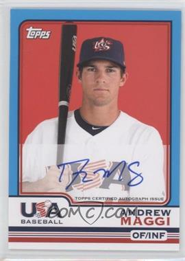 2010 Topps Chrome Team USA Autographs #USA-10 - Andrew Maggi