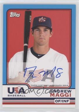 2010 Topps Chrome Team USA Autographs #USA-10 - Andrew Maggi