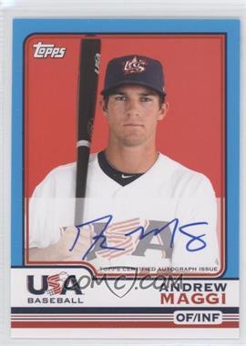 2010 Topps Chrome Team USA Autographs #USA-10 - Andy Marte