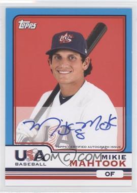 2010 Topps Chrome Team USA Autographs #USA-11 - Mikie Mahtook