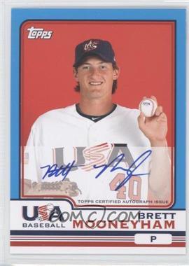 2010 Topps Chrome Team USA Autographs #USA-14 - Brett Mooneyham