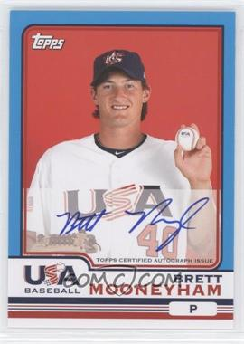 2010 Topps Chrome Team USA Autographs #USA-14 - Brett Mooneyham