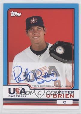2010 Topps Chrome Team USA Autographs #USA-15 - Peter O'Brien