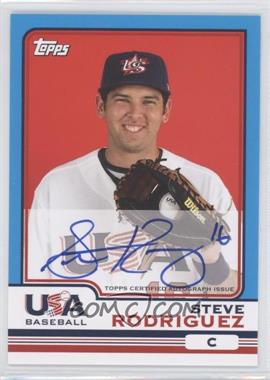 2010 Topps Chrome Team USA Autographs #USA-19 - Steve Rodriguez