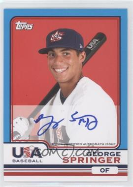 2010 Topps Chrome Team USA Autographs #USA-20 - George Springer