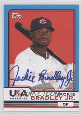 2010 Topps Chrome Team USA Autographs #USA-3 - Jackie Bradley Jr.