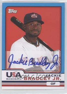 2010 Topps Chrome Team USA Autographs #USA-3 - Jackie Bradley Jr.