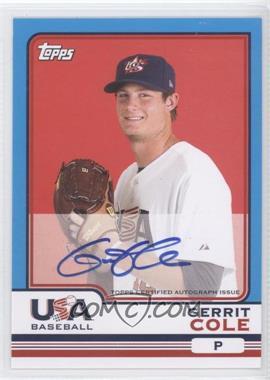 2010 Topps Chrome Team USA Autographs #USA-4 - Gerardo Concepcion