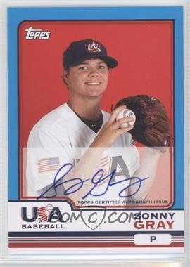 2010 Topps Chrome Team USA Autographs #USA-8 - Sonny Gray