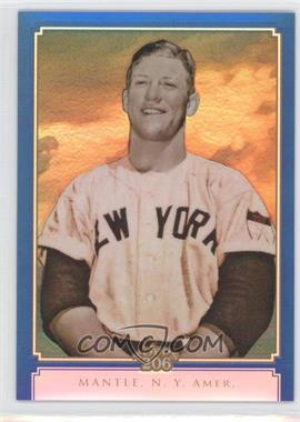 2010 Topps Chrome Topps 206 Chrome Blue Refractor #TC14 - Mickey Mantle /199