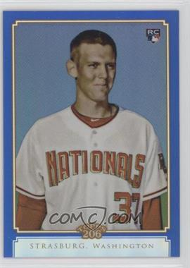 2010 Topps Chrome Topps 206 Chrome Blue Refractor #TC32 - Stephen Strasburg /199