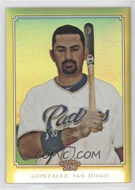 2010 Topps Chrome Topps 206 Chrome Gold Refractor #TC9 - Adrian Gonzalez /50