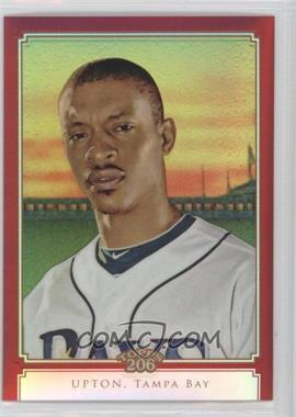 2010 Topps Chrome Topps 206 Chrome Red Refractor #TC21 - B.J. Upton /25