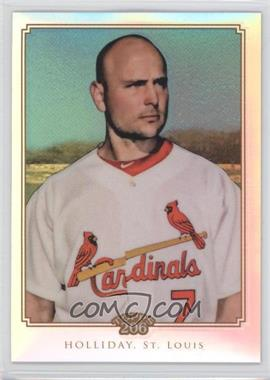 2010 Topps Chrome Topps 206 Chrome Refractor #TC1 - Matt Holliday /499
