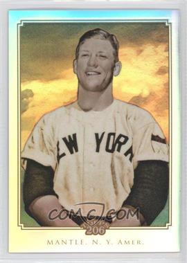 2010 Topps Chrome Topps 206 Chrome Refractor #TC14 - Mickey Mantle /499