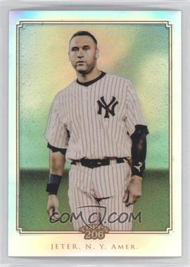 2010 Topps Chrome Topps 206 Chrome Refractor #TC30 - Derek Jeter /499
