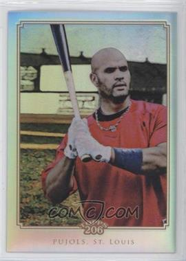 2010 Topps Chrome Topps 206 Chrome Refractor #TC42 - Albert Pujols /499
