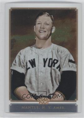 2010 Topps Chrome Topps 206 Chrome #TC14 - Mickey Mantle /999