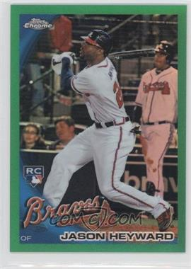 2010 Topps Chrome Wrapper Redemption [Base] Green Refractor #174 - Jason Heyward /599