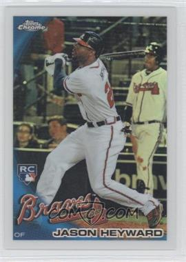 2010 Topps Chrome Wrapper Redemption [Base] Refractor #174 - Jason Heyward