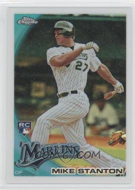 2010 Topps Chrome Wrapper Redemption [Base] Refractor #190 - Mike Stanton