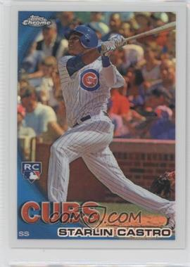 2010 Topps Chrome Wrapper Redemption [Base] Refractor #195 - Starlin Castro