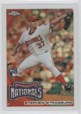 2010 Topps Chrome Wrapper Redemption [Base] Refractor #212 - Stephen Strasburg