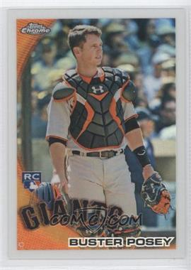 2010 Topps Chrome Wrapper Redemption [Base] Refractor #221 - Buster Posey