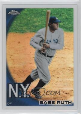 2010 Topps Chrome Wrapper Redemption [Base] Refractor #222 - Babe Ruth