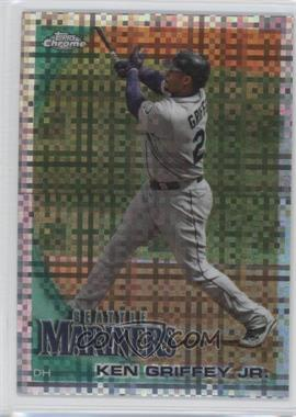 2010 Topps Chrome X-Fractor #28 - Ken Griffey Jr.