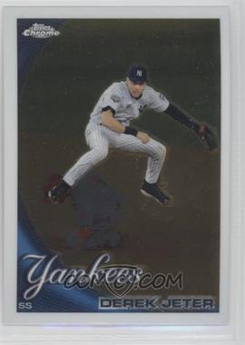 2010 Topps Chrome #165 - Derek Jeter