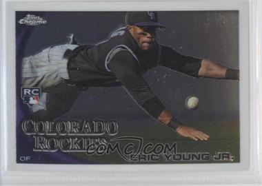 2010 Topps Chrome #171 - Eric Young
