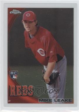 2010 Topps Chrome #176 - Mike Leake