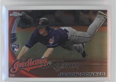 2010 Topps Chrome #180 - Jason Donald