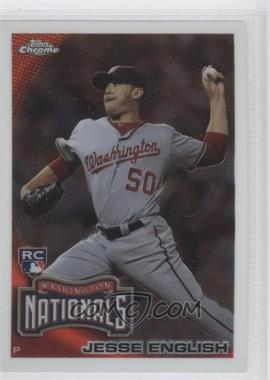 2010 Topps Chrome #203 - Jesse English