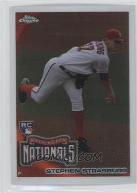 2010 Topps Chrome #212 - Stephen Strasburg