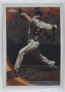 2010 Topps Chrome #27 - Tim Lincecum