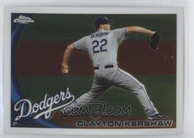 2010 Topps Chrome #3 - Clayton Kershaw
