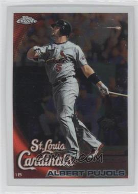 2010 Topps Chrome #32 - Albert Pujols