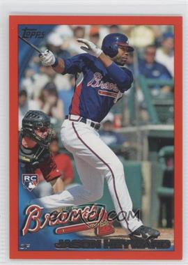 2010 Topps Factory Set Orange #353 - Jason Heyward /299