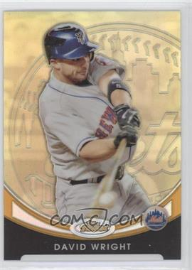 2010 Topps Finest Gold Refractor #6 - David Wright /50