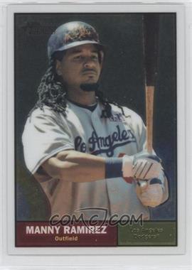 2010 Topps Heritage - [Base] - Chrome #C126 - Manny Ramirez /1961